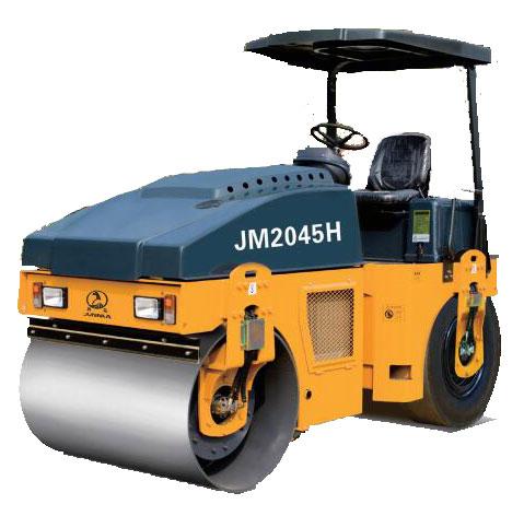 骏马JM2045H全液压组合式振动压路机高清图 - 外观