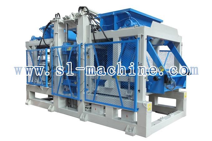 三联机械QT12-15自动砌块成型机高清图 - 外观