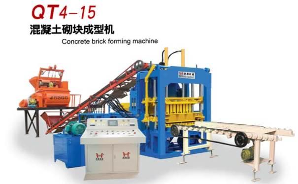 虎鼎机械QT4-15砌块成型机