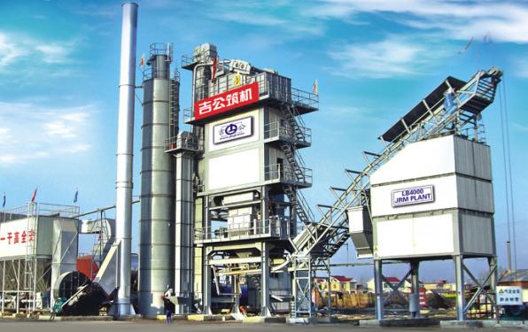 森远LB4000型间歇式沥青混合料搅拌设备