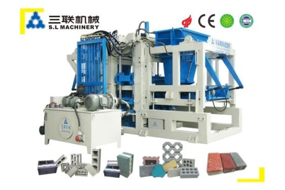 三联机械QFT10-15透水砖机
