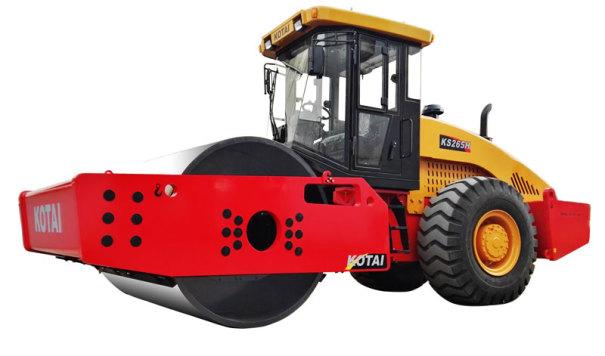 科泰重工KS265HD全液压单钢轮振动压路机