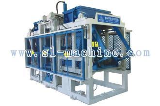 三联机械QT10-15自动砌块成型机(双料)高清图 - 外观