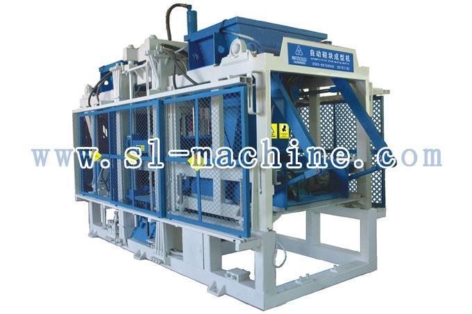 三联机械QT10-15自动砌块成型机(双料)