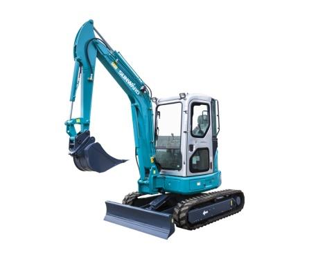 山河智能SWE40UB微型挖掘机