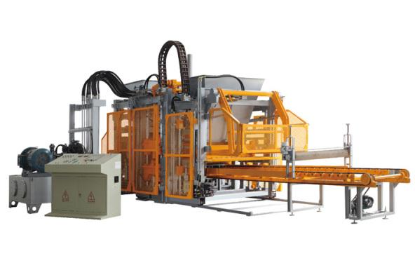 群峰机械QFT15-20砌块成型机