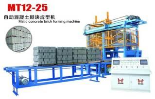 虎鼎机械MT12-25免托板砖机 免托板砌块成型机