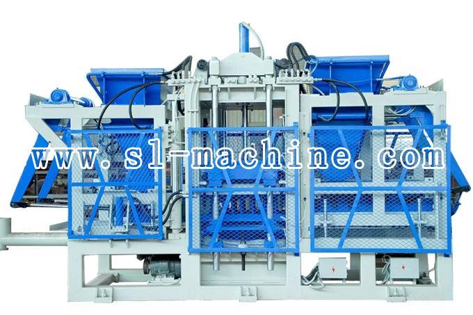 三联机械QFT18-15自动砌块成型机高清图 - 外观
