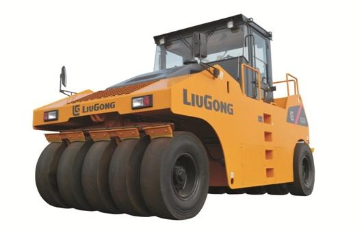 柳工CLG6530S轮胎压路机