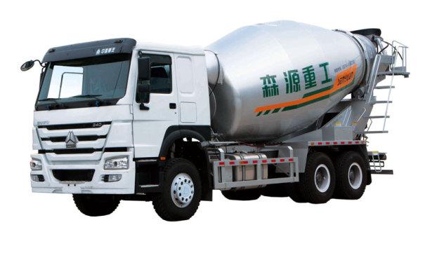 森源重工ZZ5257GJBN4347E1混凝土攪拌運輸車