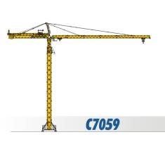 川建C7059水平臂塔式起重机