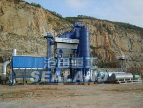 沧田重工LB2000强制式沥青混合料搅拌设备高清图 - 外观