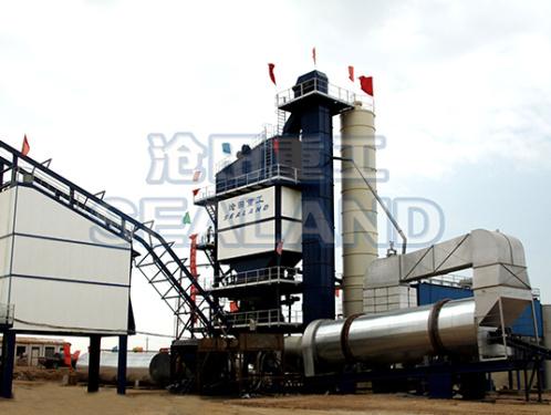 沧田重工LB4000强制式沥青混合料搅拌设备