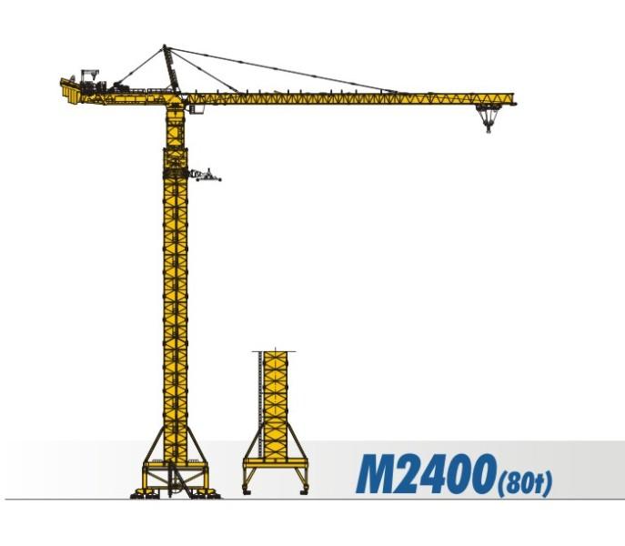 川建M2400(80t)水平臂塔式起重机