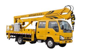 森源重工SMQ5071JGK(18米)型高空作业车高清图 - 外观