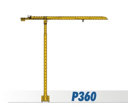 川建P360平头式塔式起重机