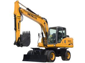 恒特HT155W轮式挖掘机高清图 - 外观