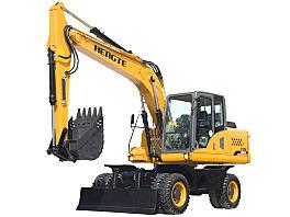 恒特HT155W轮式挖掘机