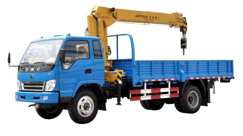 森源重工MQ5120JSQ   6.3吨随车起重运输车