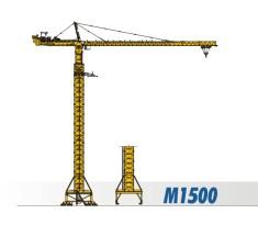 川建M1500水平臂塔式起重机