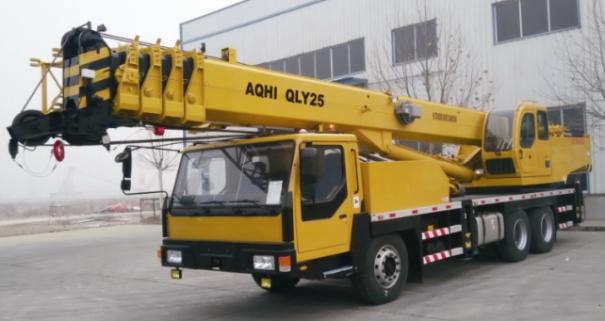 奥奇重工QLY25轮胎起重机