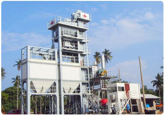 北京加隆CL-1000沥青搅拌设备