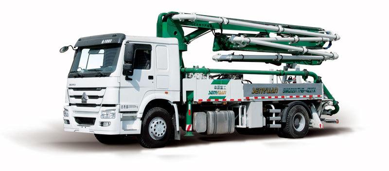 森源重工SMQ5201THB27米泵车