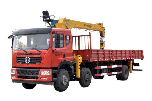 森源重工SMQ5250JSQ  12吨随车起重运输车