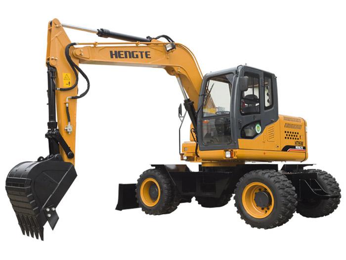 恒特ht95w轮式挖掘机高清图 - 外观