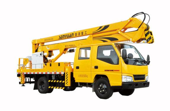 森源重工SMQ5061JGKS(16米)型高空作业力量车