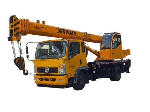 森源重工SMQ5140JQZ(10吨国五东风底盘四节臂)汽车起重机