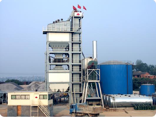 北京加隆CL-3000沥青搅拌设备高清图 - 外观