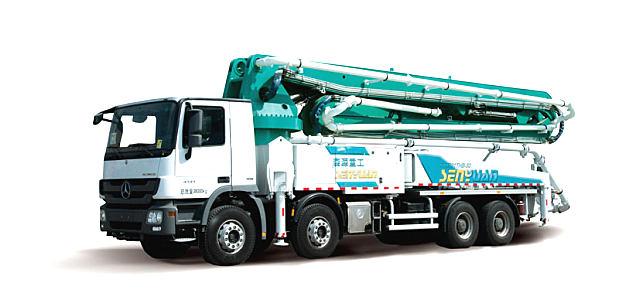 森源重工SMQ5331THB46米泵車