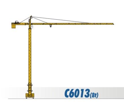 川建C6013(8t)水平臂塔式起重机
