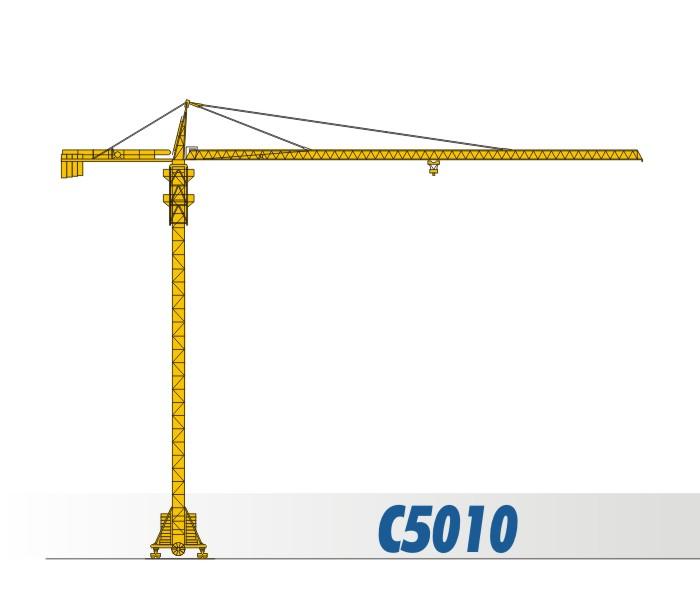川建C5010水平臂塔式起重机