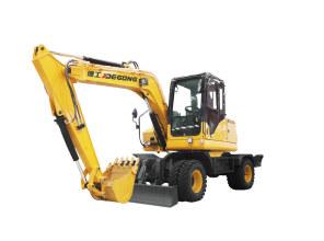 德工DG680轮式挖掘机高清图 - 外观