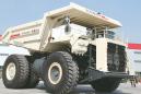 北方股份NTE240电动轮矿用卡车高清图 - 外观