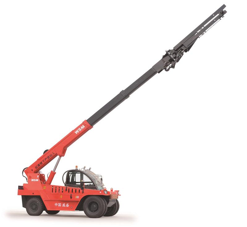 威盛WSM1120 伸缩臂叉装车高清图 - 外观