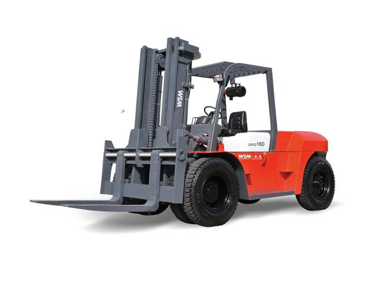 威盛CPCD160内燃平衡重式叉车高清图 - 外观