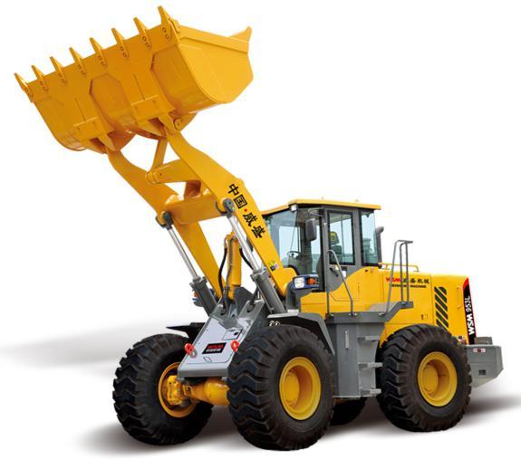 威盛WSM953L轮式装载机高清图 - 外观