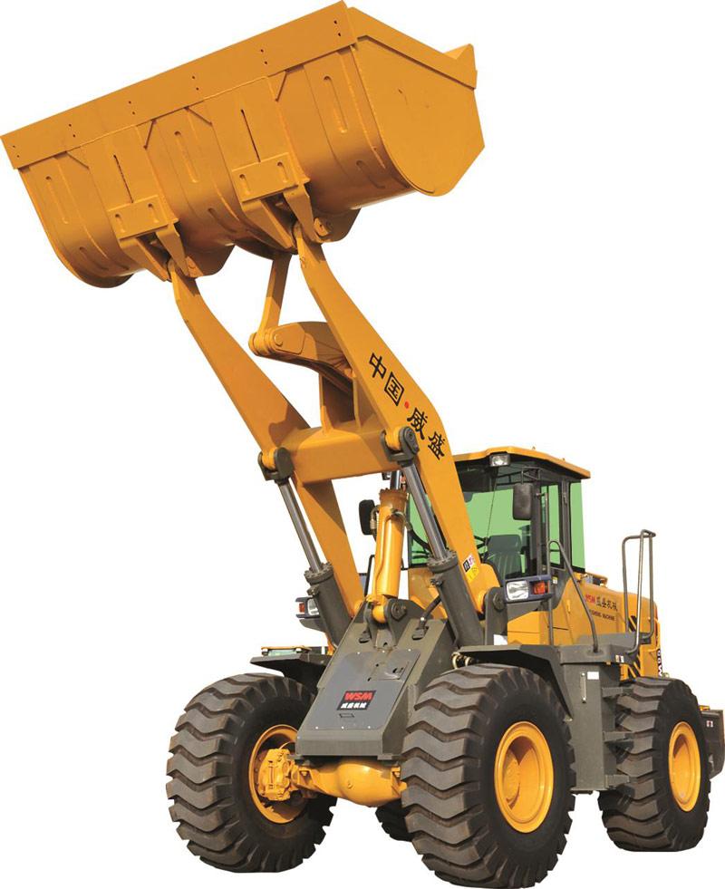 威盛WSM953G轮式装载机高清图 - 外观