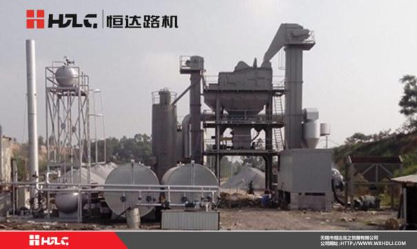 恒达路机LB-1500型沥青混合料搅拌设备