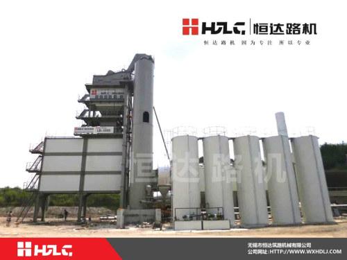 恒达路机LB-5000型沥青混合料搅拌设备