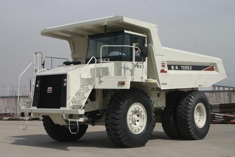 北方股份TR60机械传动矿用车