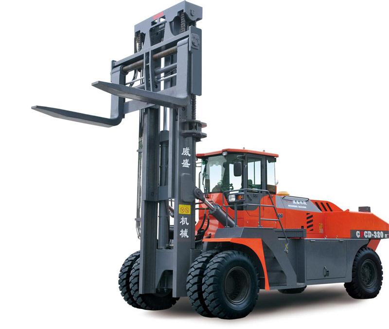 威盛CPCD320内燃平衡重式叉车高清图 - 外观