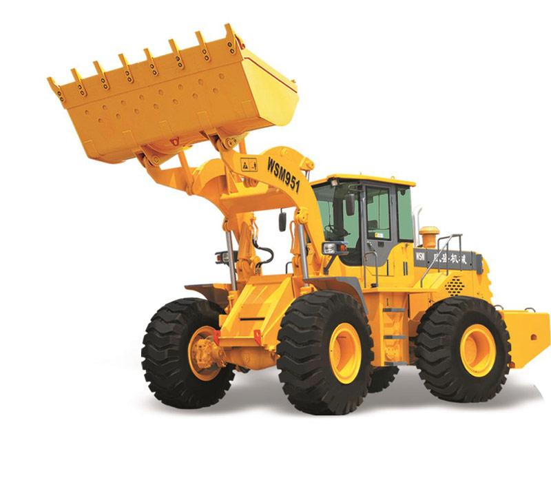 威盛WSM951轮式装载机高清图 - 外观