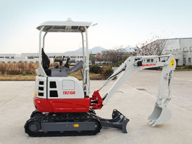 竹内TB215R小型挖掘机