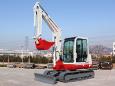 竹内TB260C小型挖掘机高清图 - 外观