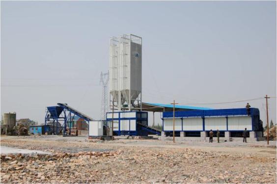 镇江阿伦WBS500稳定土厂拌设备