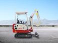 竹内TB218小型挖掘机高清图 - 外观